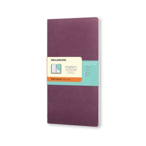 Notes Moleskine Chapters Journal (Ruled - Purpple)