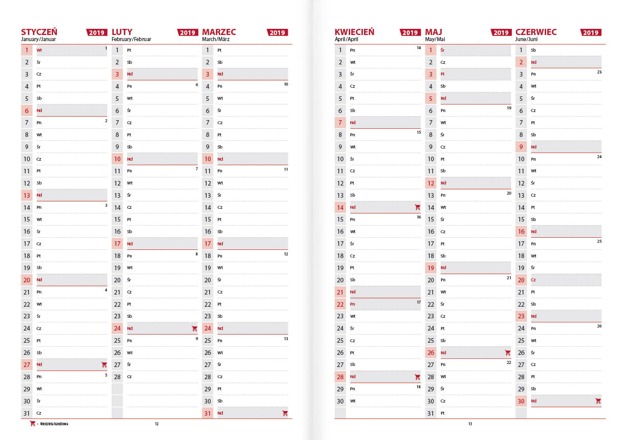 Kalendarz Książkowy Tatromaniaka 2019 Sklep Terminarzepl